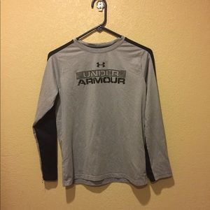 Under armour long sleeved shirt with cold gear